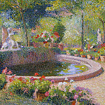 Henri-Jean-Guillaume Martin - Fountain in Marquayrol