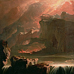 John Martin - Sadak in Search of the Waters of Oblivion