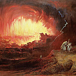 John Martin - The Destruction of Sodom and Gomorrah