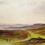 John Martin - The Valley of the Tyne, My Native Country, from near Henshaw