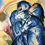 Franz Marc - Tower of the Blue Horse (lost in World War II)