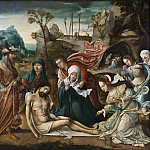 The Lamentation and the Entombment [Attributed]