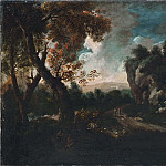Landscape with a Cliff [Attributed]