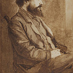 Charles Fairfax Murray - Portrait of William Morris