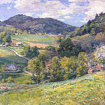 Willard Leroy Metcalf - spring in the valley c1924