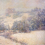 Willard Leroy Metcalf - the winters festival 1913