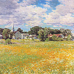 Willard Leroy Metcalf - buttercup time 1920