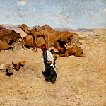 Willard Leroy Metcalf - Arab Encampment Biskra