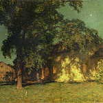 Willard Leroy Metcalf - Summer Night No. 2