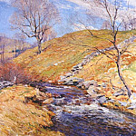 Willard Leroy Metcalf - brook in march 1923