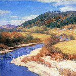 Willard Leroy Metcalf - Indian Summer Vermont