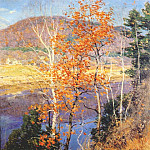 Willard Leroy Metcalf - closing autumn 1924