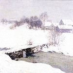 Willard Leroy Metcalf - The White Mantle