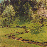 Willard Leroy Metcalf - blossom time 1910