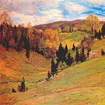 Willard Leroy Metcalf - flying shadows