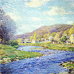 Willard Leroy Metcalf - brook in june 1919