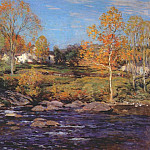 Willard Leroy Metcalf - october morning (no 1) 1910