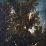 Landscape with two Repentant Monks
