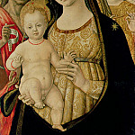 Madonna and Child with St. John the Baptist and St. Michael the Archangel, Michael John Angel