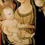 Madonna and Child with SS. Catherine and Christopher