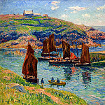 Henry Moret - Low Tide 1907