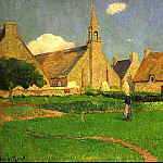Henry Moret - The Chapel of Le Pouldu