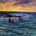 Henry Moret - Evening Audierne 1906