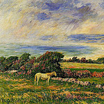 Henry Moret - Horse in a Meadow