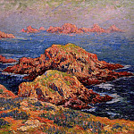 Henry Moret - The Red Rocks at Ouessant 1909