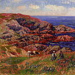Henry Moret - Cliffs at Kerserol Finistere 1909