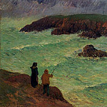 Henry Moret - The Cliffs near the Sea 1896