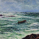 Henry Moret - The Pilot The Coast of Brittany 1906