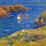 Henry Moret - Ouessant calm sea