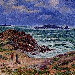 Henry Moret - By the Sea in Southern Brittany 1912