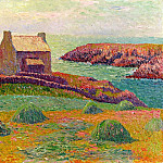 Henry Moret - House on a Hill 1898
