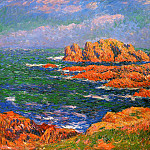 Henry Moret - The Rocks at Ouessant 1902