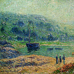 Henry Moret - Creek in Brittany 1903