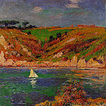 Henry Moret - Sailboats in Brittany 1898