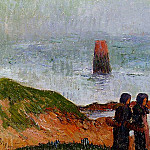 Henry Moret - Breton Women by the Sea 1892