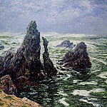 Henry Moret - The Needles of Port Cotom Belle Ile 1906