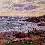 Henry Moret - The Coast at Doelan 1912