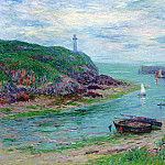 Henry Moret - Doelan Low Tide 1903