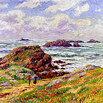 Henry Moret - Rocks at Porspoder Finistere 1910