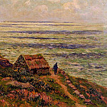 Henry Moret - Cliffs of Jaboure 1912