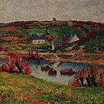 Henry Moret - The River at Douaelan sur Mer 1913