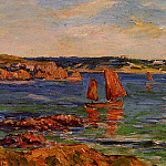 Henry Moret - Red Rocks
