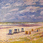 Henry Moret - The Egmond Beach Holland 1900