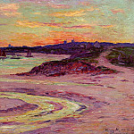 Henry Moret - The Point de Lervily Brittany 1906