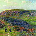 Henry Moret - Conversation in the Moor 1900
