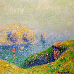 Henry Moret - The Red Sail